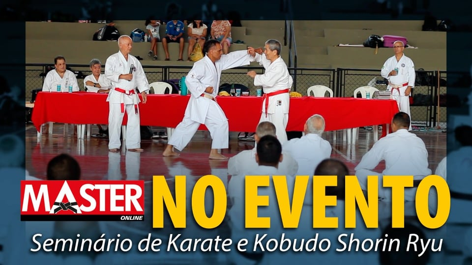 Seminário Internacional Shinshukan de Karate é destaque no canal da Revista Master no Youtube